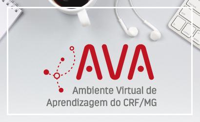 Inscrições abertas para os dois primeiros cursos do AVA, Ambiente Virtual de Aprendizagem do CRF/MG